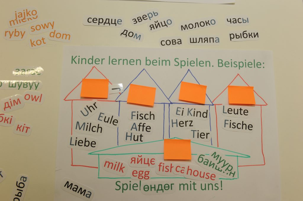 Workshop zur Muttersprache