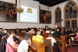 Oktober 2014: Zum einjährigen Jubiläum präsentiert sich MORGEN im Münchner Rathaus