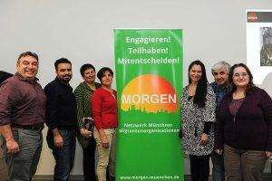 Chronologie von MORGEN: die Kerngruppe bei der vereinsgründung im November 2015