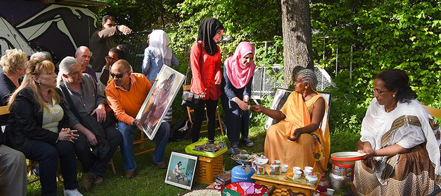 Samo.fa-Aktionstag im Feierwerk am 13. Mai 2017
